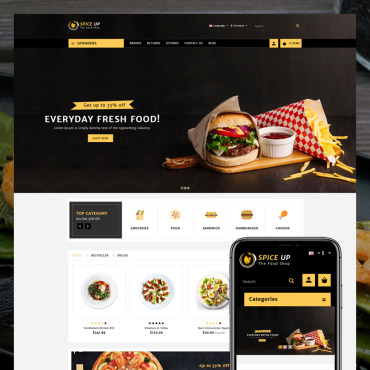 Website Template № 80492