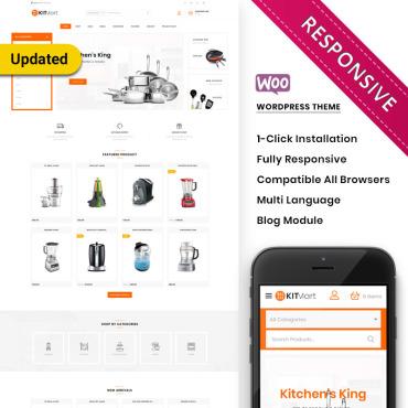 Template Amenajări interioare și mobilă WooCommerce #80542
