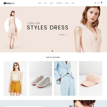 Template Modă WooCommerce #80610