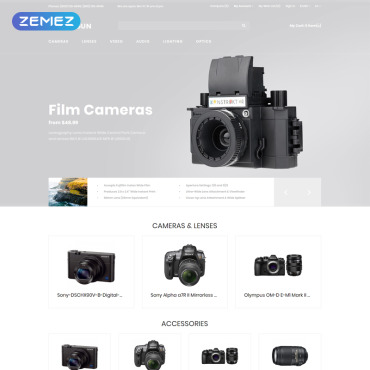 Website Template № 80621