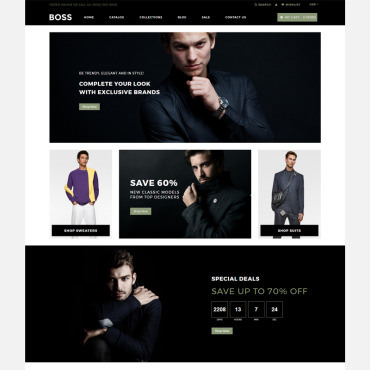 Website Template № 80622