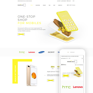 Website Template № 80708