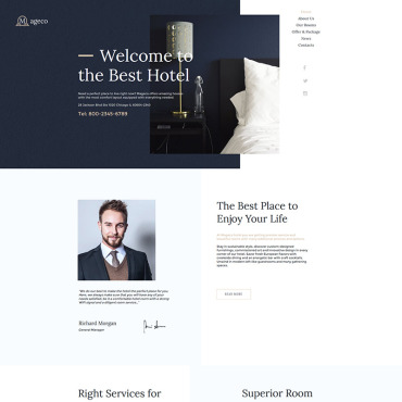 Website Template № 80873