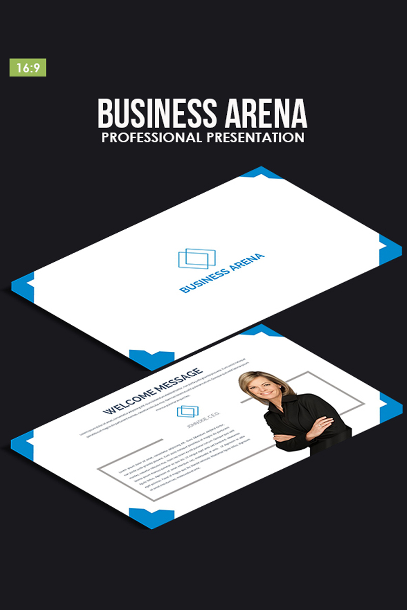 Business Arena PowerPoint Template