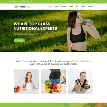 Website Template № 80911
