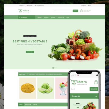 Website Template № 80950