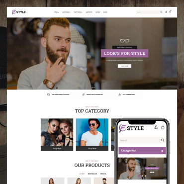 Website Template № 80986