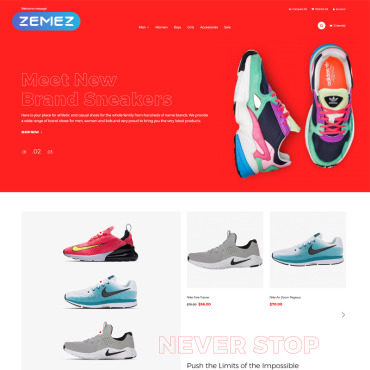 Website Template № 81084