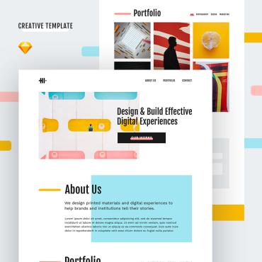 Template  Sketch Templates #81115