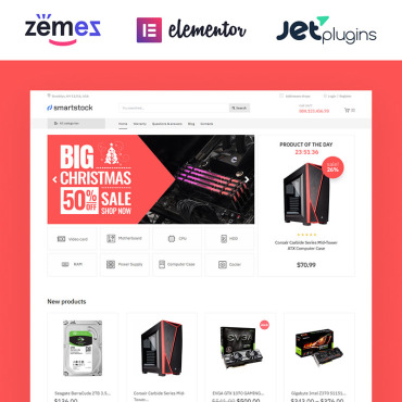 Template Electronice WooCommerce #81127