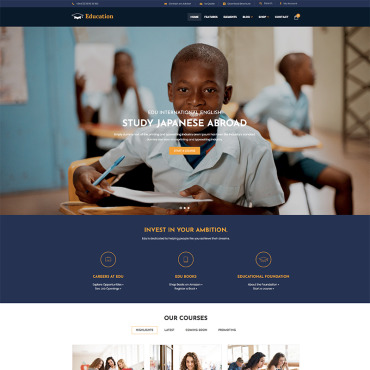 Website Template № 81130