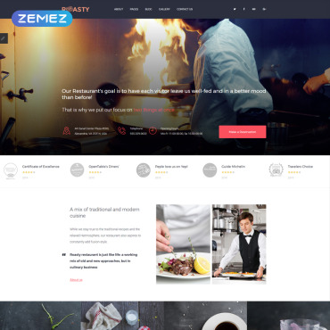 Website Template № 81215