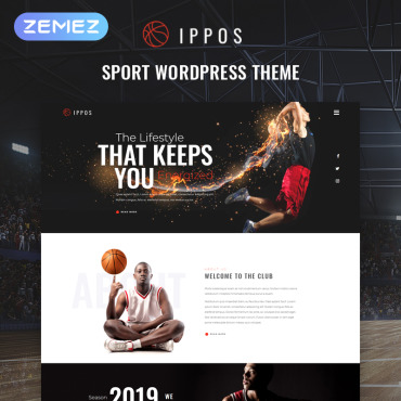 Template Sport WordPress #81470