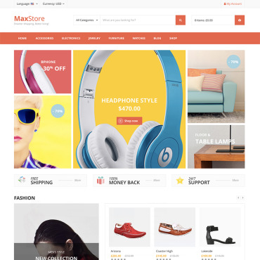 Template Electronice WooCommerce #81511