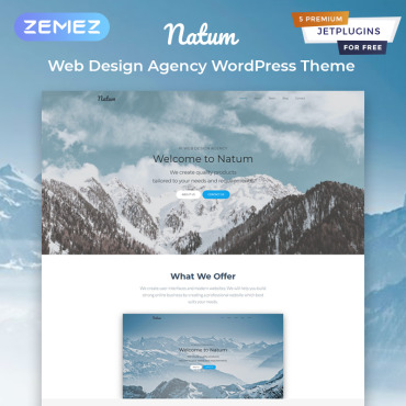 Template Web Design WordPress #81576