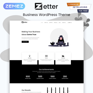 Template Afaceri WordPress #81610
