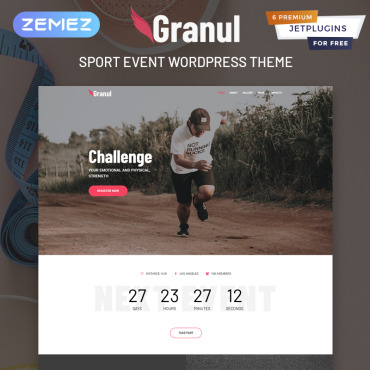 Template Sport WordPress #81702