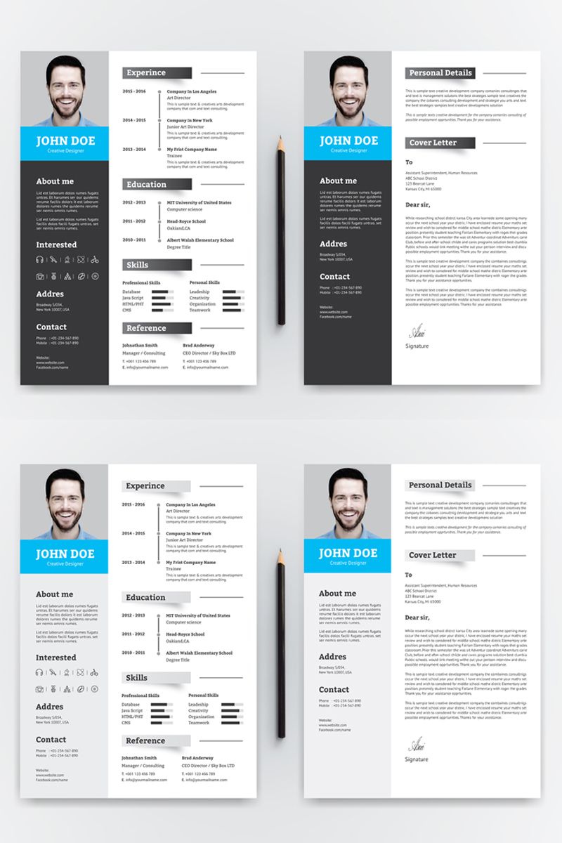 John Doe Word Resume Template