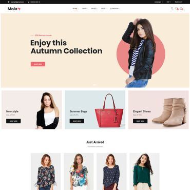 Template Modă WooCommerce #81824