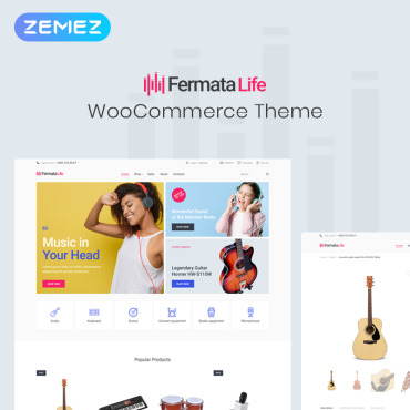 Template WooCommerce #82001