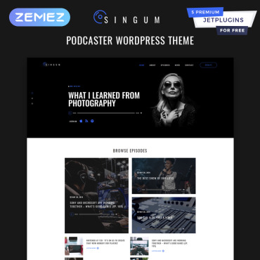 Template Divertisment WordPress #82015