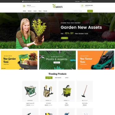 Website Template № 82035