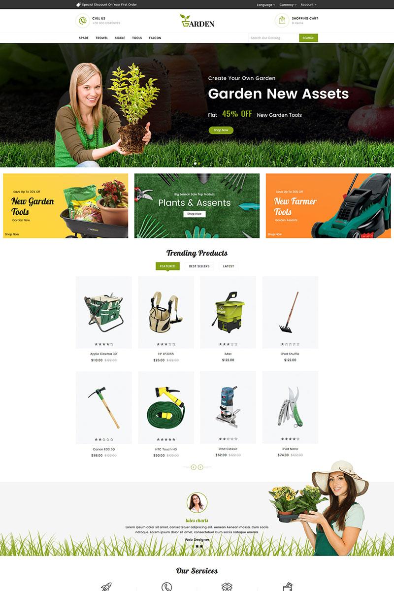 Garden Tools Responsive OpenCart Template