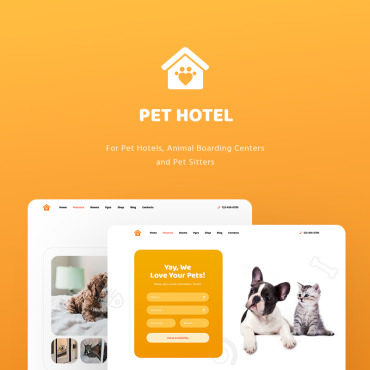 Template Animale de companie WordPress #82059