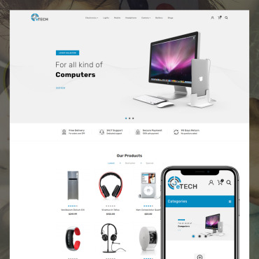 Website Template № 82087