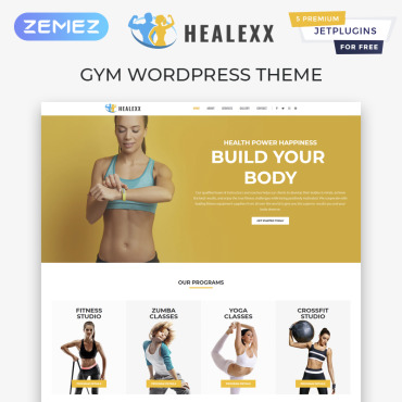 Template Sport WordPress #82167