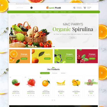 Website Template № 82177