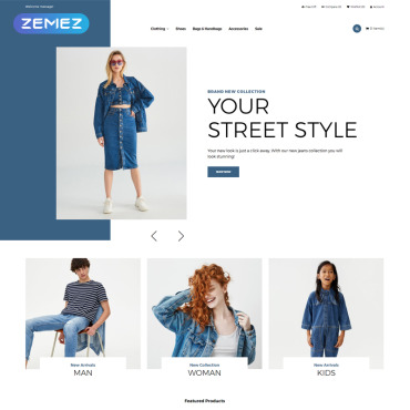Website Template № 82200
