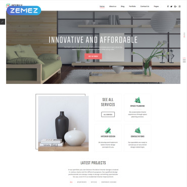 Website Template № 82202