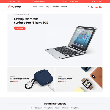 Template Electronice WooCommerce #82217