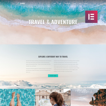 Template Turism WordPress #82395