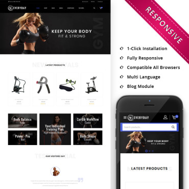 Template Sport WooCommerce #82399