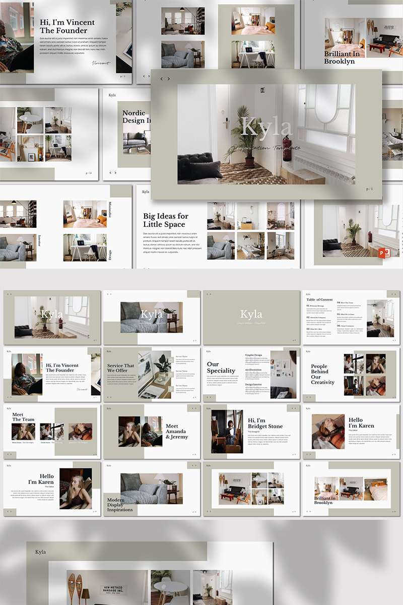 Kyla - PowerPoint Template