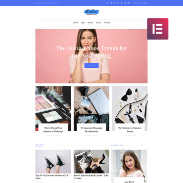 Template Modă WordPress #82483