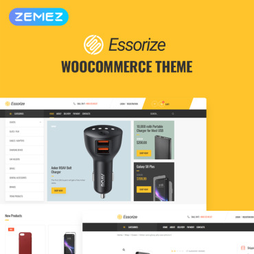 Template Electronice WooCommerce #82524