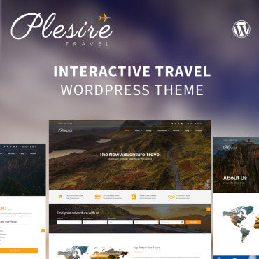 Template Turism WordPress #82552