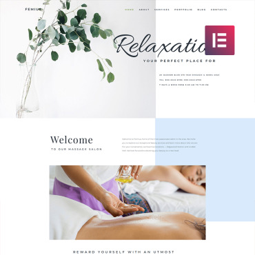 Template Frumusețe WordPress #82565
