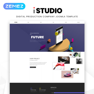 Template Web Design Joomla #82594