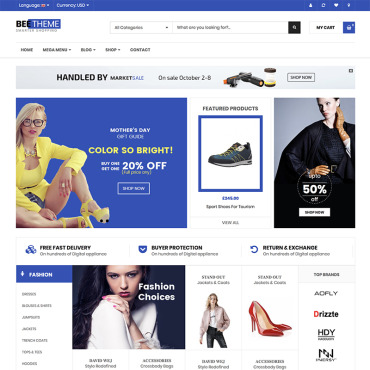 Template Electronice WooCommerce #82605