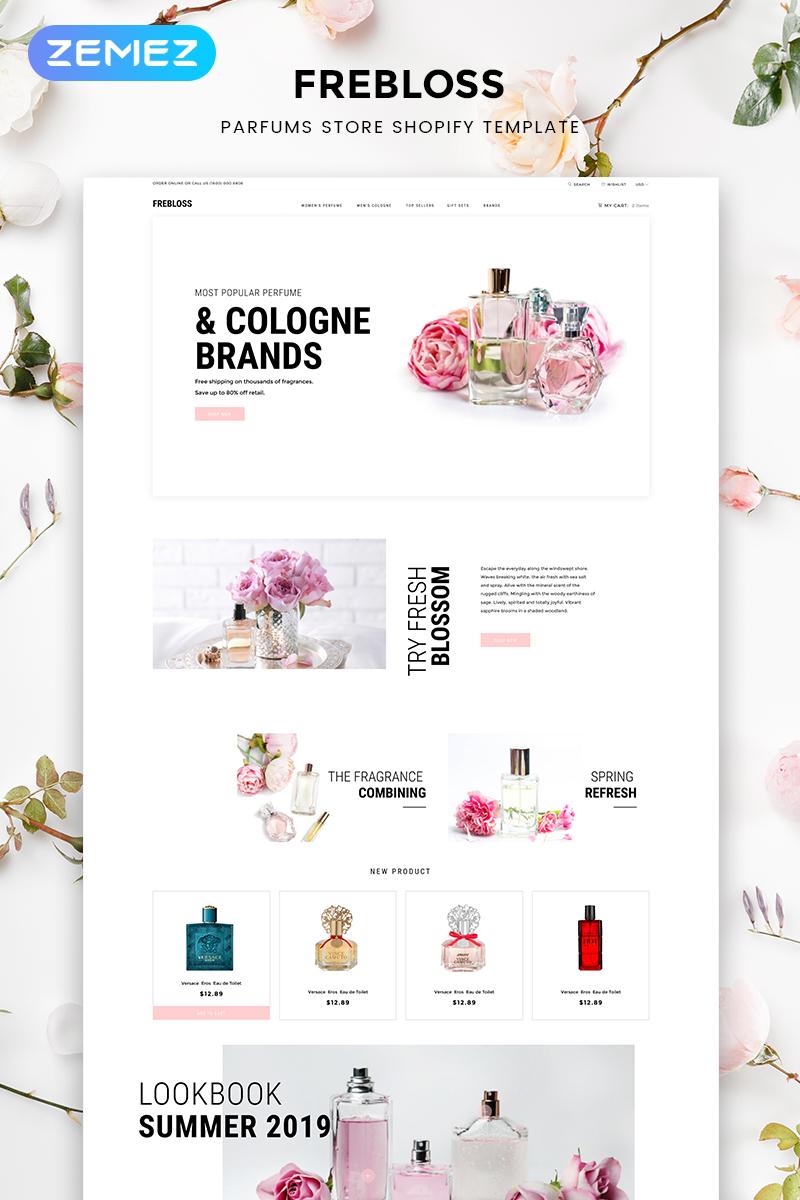 Frebloss - Perfume Store Clean Shopify Theme