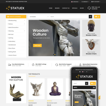 Website Template № 82745