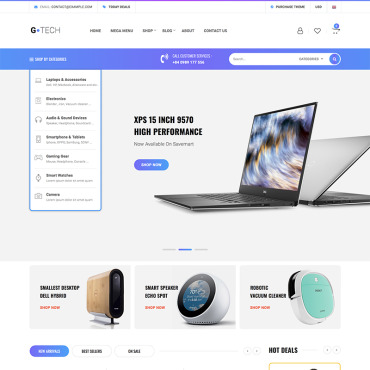Website Template № 82889