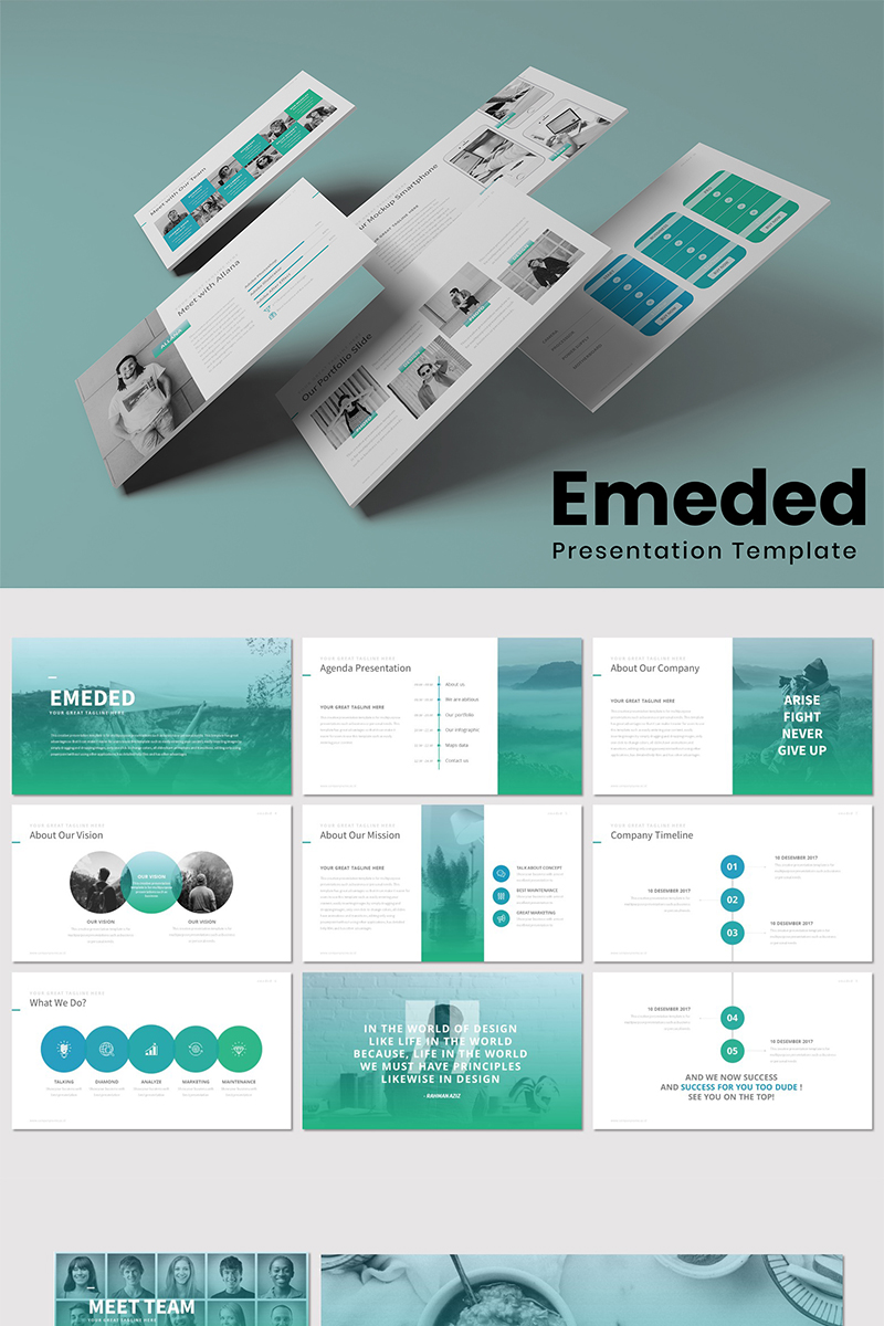 Emeded - PowerPoint Template