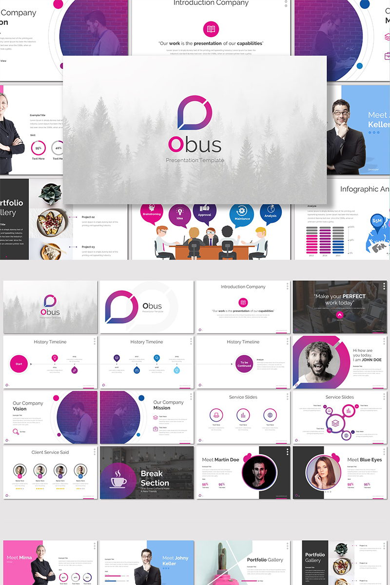 Obus - PowerPoint Template