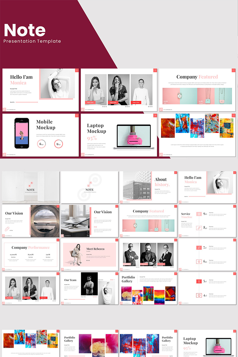 Note - PowerPoint Template