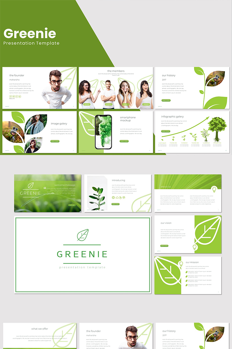 Greenie PowerPoint Template